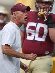 FSU offensive line coach Rick Trickett has experienced difficultly getting his unit to perform in recent years.