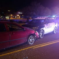 Gilbert police: Officer crashes car to stop suspected drunken driver