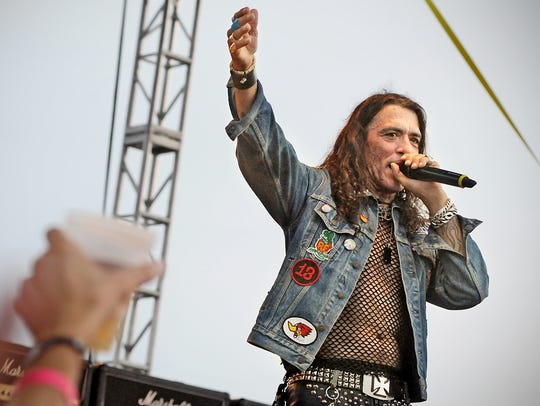 Ratt's Stephen Pearcy in 2015.