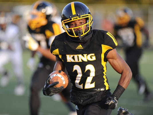 Prep Football, Detroit King vs. Detroit East English Village Div 2, Dist final
