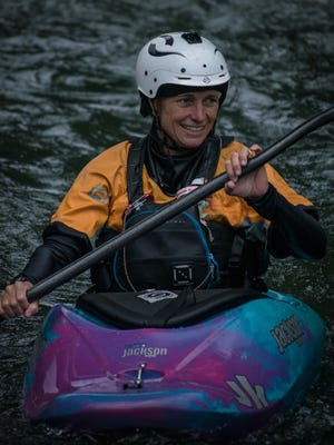 Maria Noakes, seen here in July 2016 paddling the Ocoee River, died in a kayaking accident on the Cheoah River Saturday, March 3.