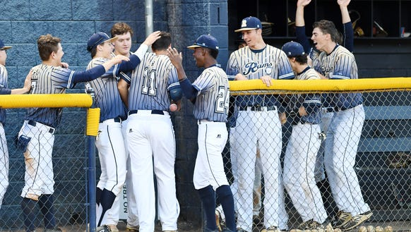 Roberson defeated North Henderson 14-4 April 17, 2018