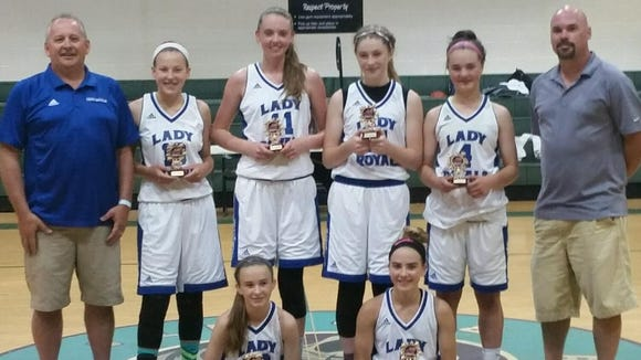 The WNC Lady Royals won six state championships at last weekend's Basketball of the Carolinas tournament in Charleston, S.C.