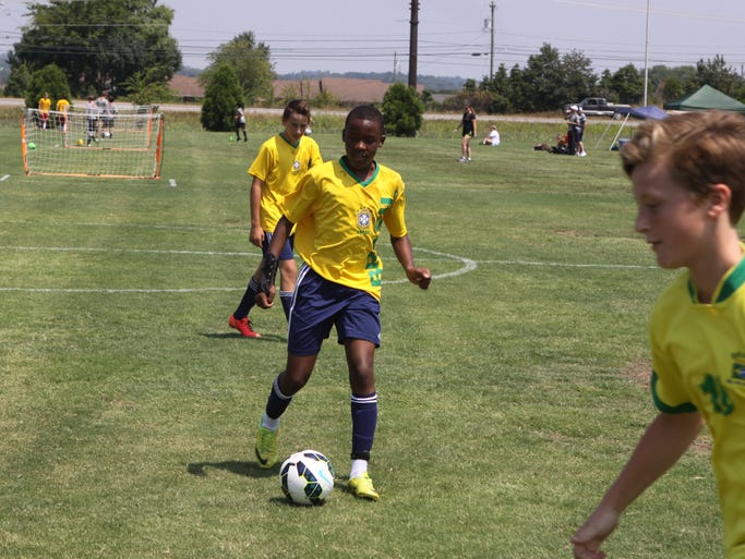 More than 500 players came to town for a 3V3 Live Soccer Tournament, held this weekend at Heritage Park.