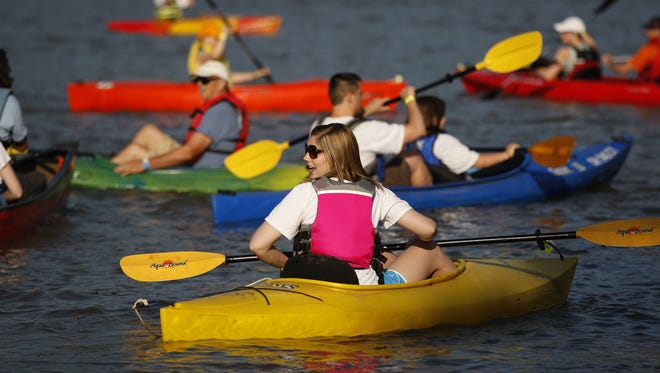 This year's Ohio River Paddlefest moves from a Thursday-Saturday to a Friday-Sunday event.