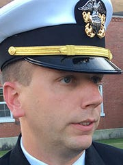 Lt. Cmdr. Clay Bridges