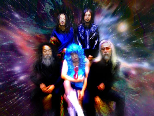 Japanese psychedelic rock collective Acid Mothers Temple & The Melting Paraiso U.F.O. makes magic with Babylon at 9:30 p.m. Thursday at Club Downunder in FSU's student union.