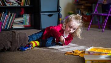 Hanover girl, 3, thrives despite rare disorder
