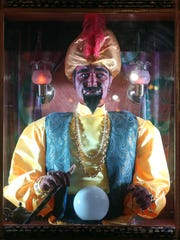 Zoltar, the fortune-telling amusement machine, is located