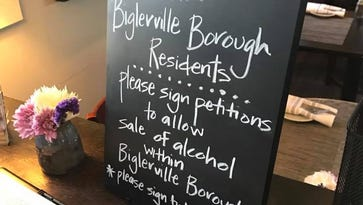 Fidler and Co. Craft Kitchen in Biglerville created a petition to allow alcohol sales within the borough. Residents of the borough can sign the petition at the restaurant.
