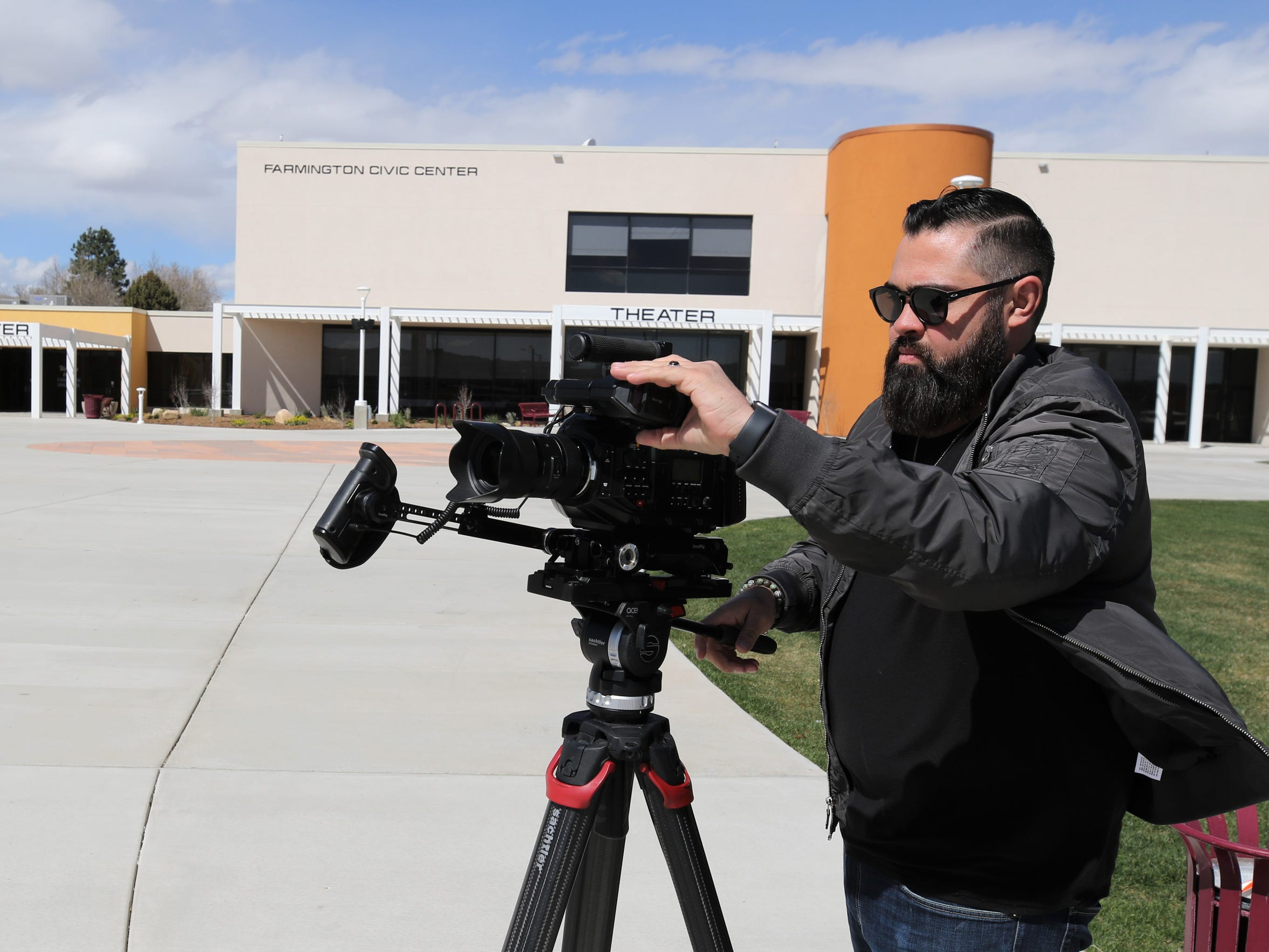 Local filmmaker Brent Garcia is bullish on the industry's