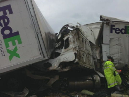 Truck fatality