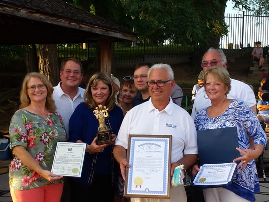 National, state and local leaders honored Dennis Dimoff