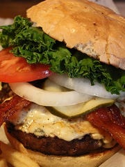 All burgers served at Chapman's Restaurant feature Smelcer's Farm Fresh Beef.