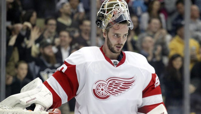 The Red Wings are looking to re-sign Jonas Gustavsson, but term could be an issue.