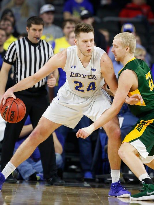 South Dakota State vs North Dakota State Summit League Basketball