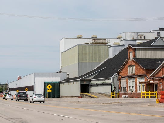 Cargill Salt, 916 S. Riverside Ave. in St. Clair.