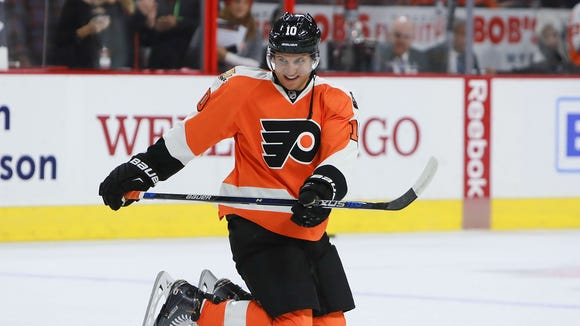 Brayden Schenn was traded to the St. Louis Blues Friday