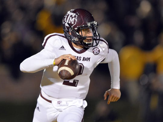 Johnny Manziel, quarterback, Texas A&M: The reigning Heisman Trophy winner threw for 3,732 yards and 33 touchdowns. Manziel also rushed for 686 yards and eight scores.