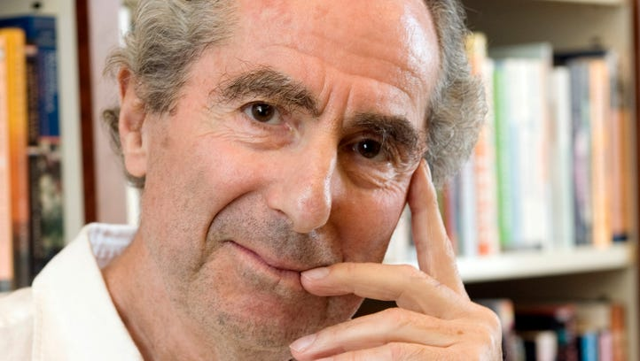 Author Philip Roth in a Sept. 8, 2008, file photo.