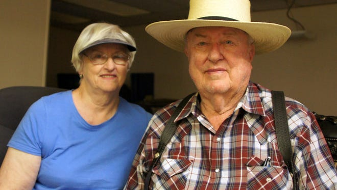 Jerry and Carol Nash spent Tuesday night in Deming in their travel trailer at the 1300 block of West Pine Street - a location Jerry is all too familiar with.
