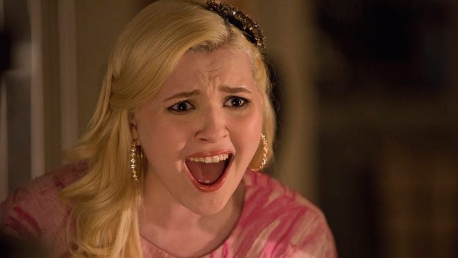 Abigail Breslin doesn't hold back expressing herself in 'Scream Queens.'