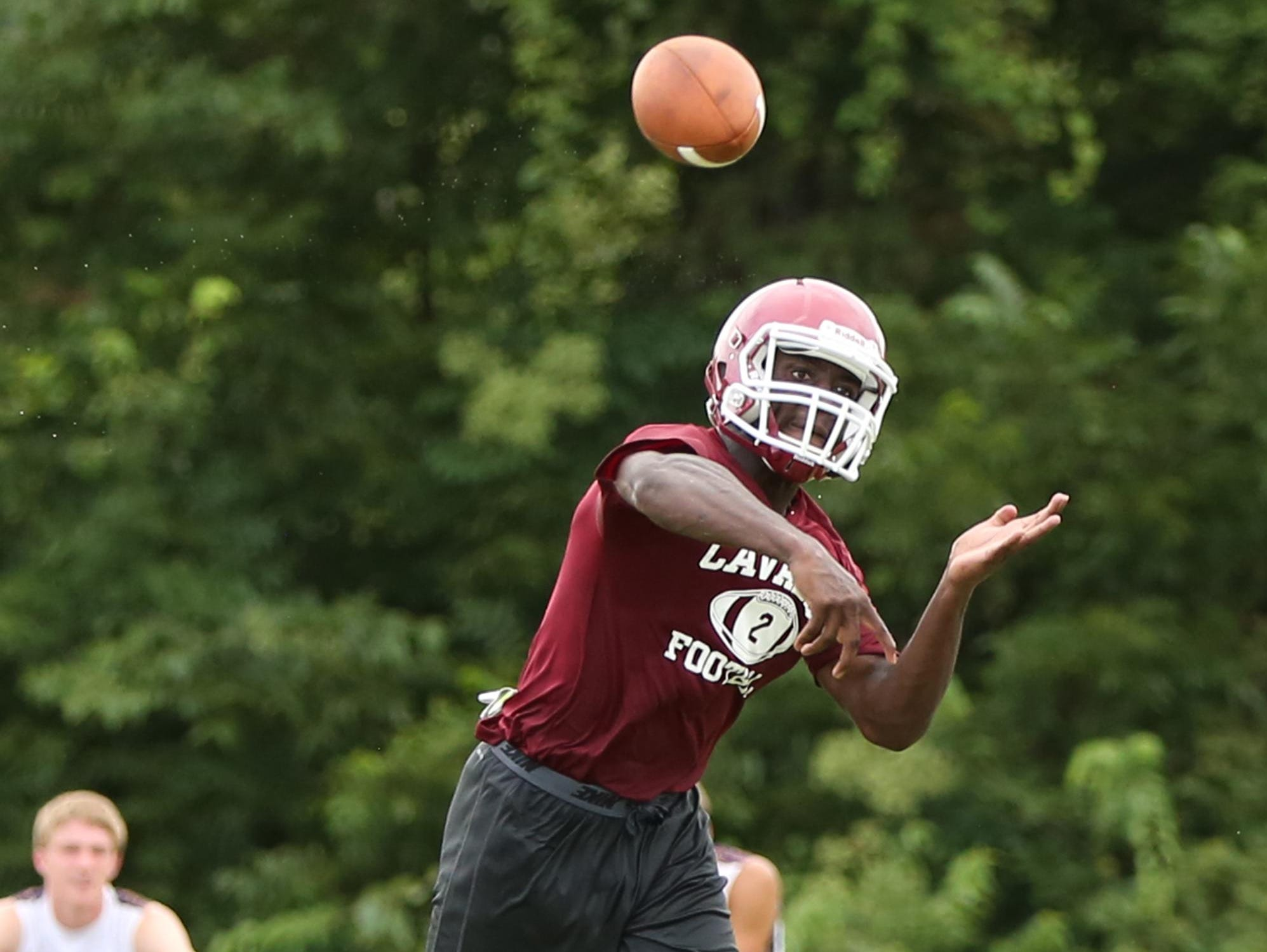 Jeremiah Nance will be the starting quarterback for Crockett County High's football team this year.