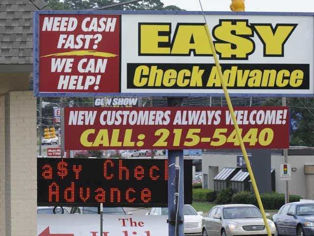 four weeks pay day advance borrowing products