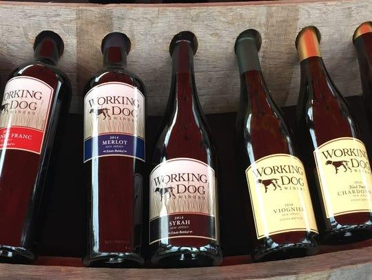 Working Dog Winery's impressive portfolio of Vitas