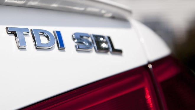 2013 VW Passat TDI SEL diesel-powered sedan