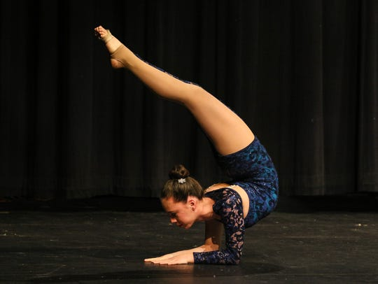 Finalists Allison Chong performs for Morristown Onstage