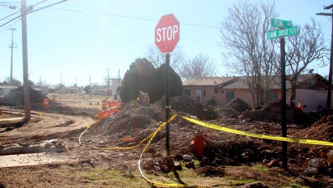 San Jose Boulevard will remain closed until late April.