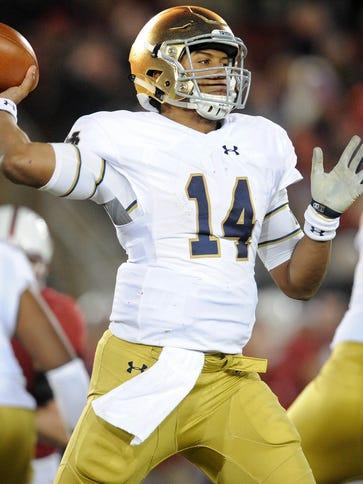 Former Notre Dame QB DeShone Kizer is now a Cleveland