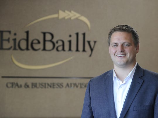 """The interns are vital to what we do as far as getting the work done from January through April,"" said Aaron Clayton, a partner at Eide Bailly."