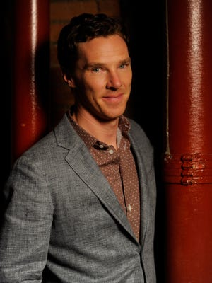 """Benedict Cumberbatch takes a break from promoting """"The Imitation Game"""" on Nov. 18 in New York"""
