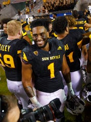 Arizona State defensive lineman JoJo Wicker.