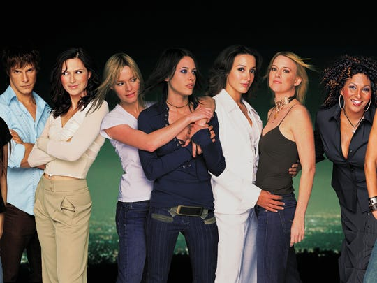 "The original 2004 cast of ""The L Word."""