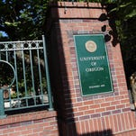 The campus of the University of Oregon in Eugene.