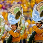 The LSU band will perform some of South Carolina's favorite songs during Saturday's game.