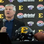 Western Carolina University Coach Mark Speir and the Catamounts will be involved in ETSU's return to Southern Conference football.