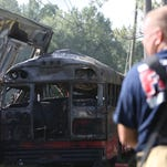 Photos: Wakulla Highway 98 bus crash scene