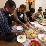 Syrian refugees mark one year amid surge