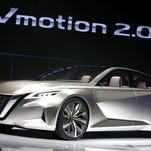 Detroit auto show 2017: See the Nissan Vmotion 2.0 concept car
