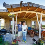 Couple builds, lives in 'Earth Home'