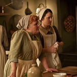 """Lesley Nicol and Sophie McShera are part of the Masterpiece TV series """"Downton Abbey,"""" which concludes on March 6."""