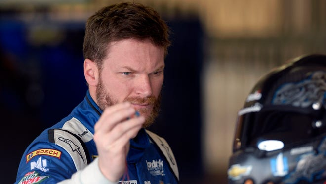 Dale Earnhardt Jr. says he's happy to be in a Hendrick-powered Chevrolet. Those cars are dominating the season so far.