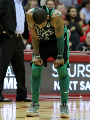 Celtics guard Kyrie Irving will miss his fourth consecutive game on Tuesday.