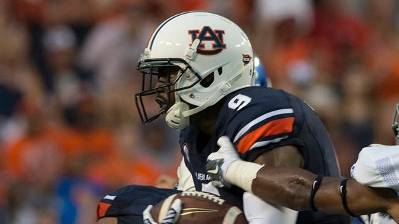 Auburn defensive back Jermaine Whitehead did not travel with the team to Kansas State and will not play on Thursday.