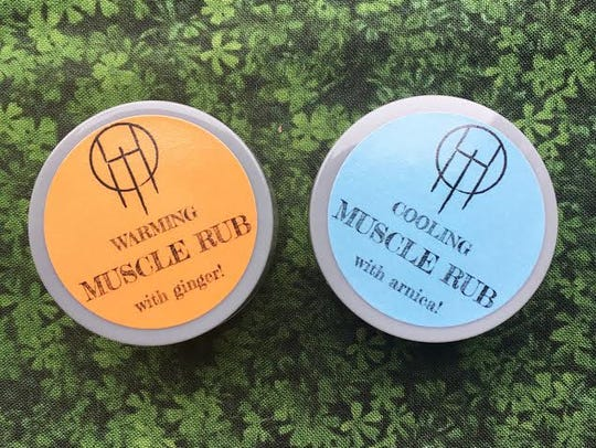 Muscle salves from HoneyTrouble.
