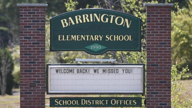 Barrington Elementary School is transitioning to remote learning due to coronavirus cases.